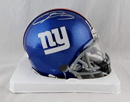 5404bfc56009c Amazon.com: Odell Beckham Jr Autographed NY Giants Mini Helmet with ...
