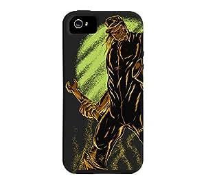 Mechanic iPhone 5/5s Eerie black Tough Phone Case - Design By Humans