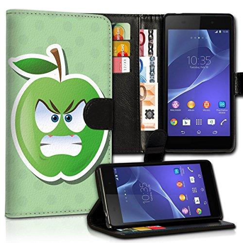 Wallet Book Style Flip Handy Tasche Case Schutz Hülle Schale Motiv Etui für Apple iPhone 5 / 5S - Design Flip MVD254