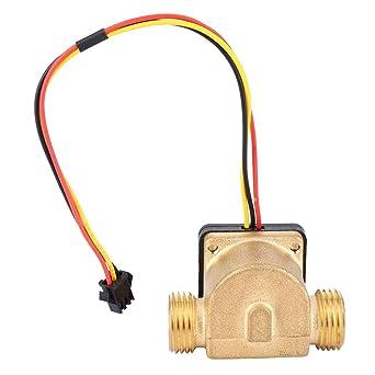 Flow Sensor Switch G1/2 Male-Male, 1-30L/min Thread Water ... on