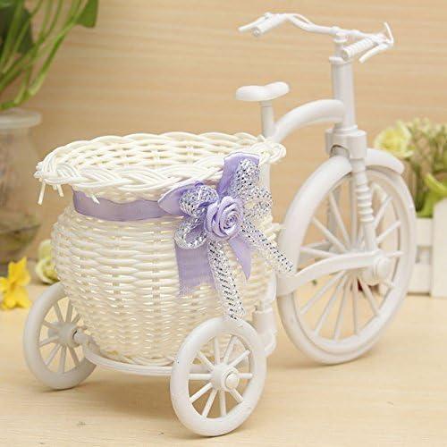 BouBou Gran Rota Triciclo Bicicleta Flor Cesta florero decoración ...