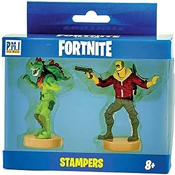 Fortnite FRT25000 - Sellos (2 unidades, serie 1, caracteres enviados al azar), multicolor , color/modelo surtido: Amazon.es: Juguetes y juegos