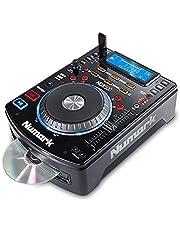 Numark NDX500 - Standalone USB/CD-speler en softwarecontroller met aanraakgevoelig jogwiel, audio-interface, Long Throw Pitch-bediening en premapped voor Serato DJ