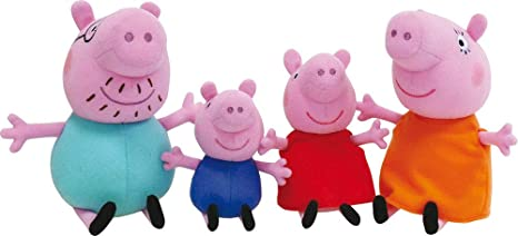 Jemini 023101 Peppa Pig - Estuche de 5 Peluches: Familia ...