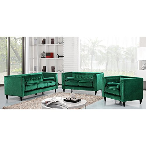 Meridian Furniture Inc Taylor Sofa with Accent Pillows