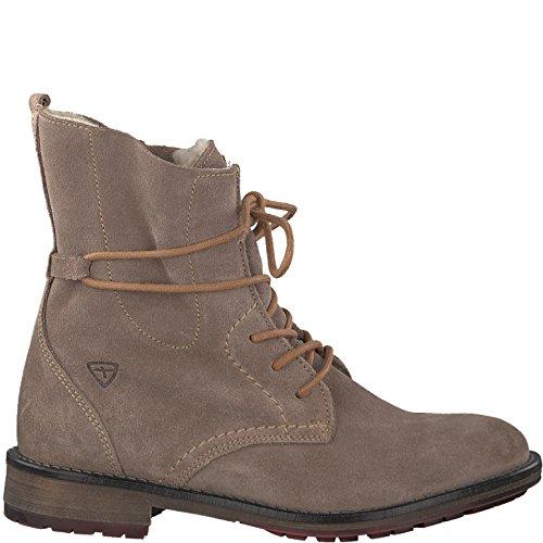 Tamaris Damenschuhe 1-1-26791-29 Damen Stiefel, Boots, Damen Stiefeletten, Herbstschuhe & Winterschuhe für Modebewusste Frau Braun (Taupe), EU 40