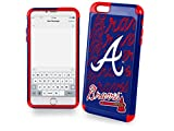 MLB Atlanta Braves Dual Hybrid Ai6 TPU Cover (2 Piece), Large, Red