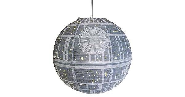 Star Wars Estrella de la Muerte Lámpara Sombrilla de Papel ...