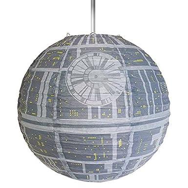 Star Wars Estrella de la Muerte L/ámpara Sombrilla de Papel para L/ámparas de Techo 29,5x30