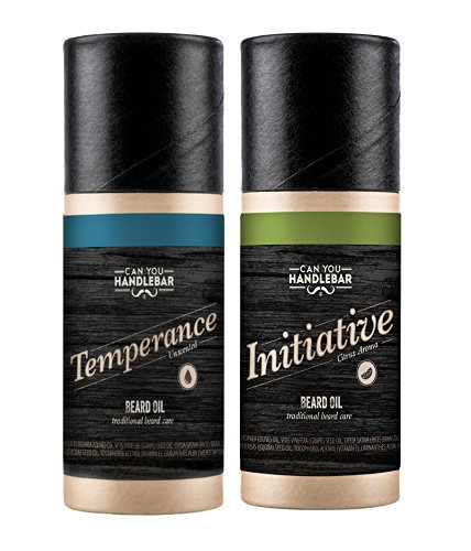 Initiative & Temperance 'Pick Two and Save' Beard Oil Set | Citrus Scent & Unscented