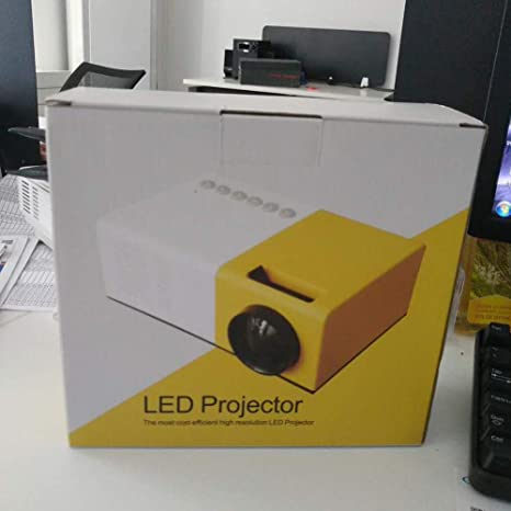 Proyector WIFI J9 Mini portátil 1080P Proyector miniatura ...