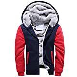 Best Warmest Winter Coats - VirgoL Men's Winter Hooded Fleece Coat Lightweight Cotton Review
