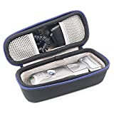 Braun Series 7 Wet And Dry Shaver 740s - Hard Travel Case Bag for Braun Series 5 7 9 5190cc 790cc 7865cc 740S 760cc 9090cc9095cc Men's Electric Foil Shaver, Wet and Dry with Clean and Charge Station, Rechargeable and Cordless Razor by GUBEE