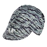 Welding Cap,SONSAN Adjustable Welding Protective Hat Cap Scarf Welders Flame Retardant Cotton Security Helmet