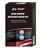 Eastup Rear Window Defogger Repair Kit Fix Broken Defogger Grid Lines Just Two Steps No Professional Skills Needed