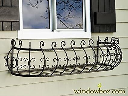 Amazon Com 48 Inch Parisian Window Box Planter Garden Outdoor