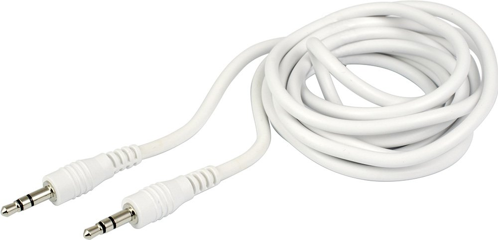 GOXT 23669 6 Extended Length Black AUX Cord