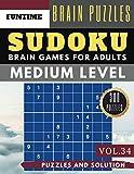 Medium Sudoku: Huge 300 medium SUDOKU books