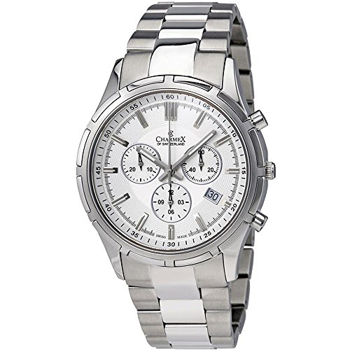 Charmex of Switzerland Hockenheim Chronograph Mens Watch 2845