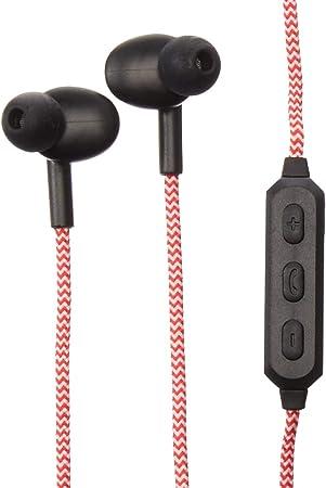 Kikkerland US155-RD-EU - Auriculares de Diadema inalámbricos (algodón Trenzado), Color Rojo: Amazon.es: Electrónica