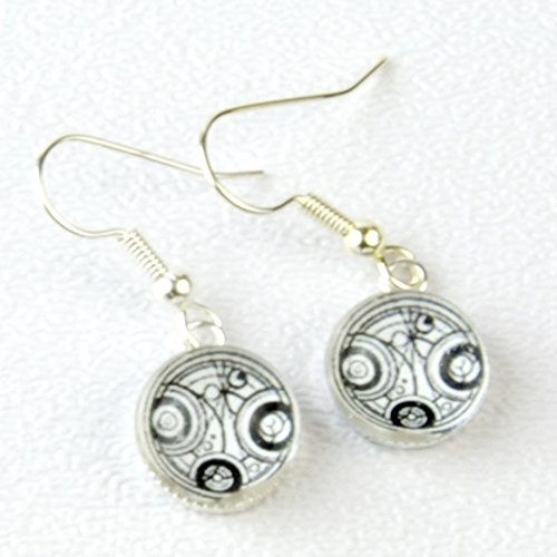 Doctor Who Time Lord Hanging Earrings