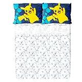 Pokemon Full Comforter and Sheet Set
