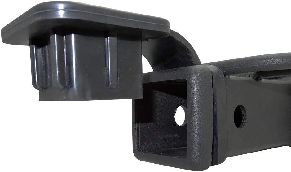 Fltaheroo 2 Inch Trailer Hitch Cover Plug Cap Rubber Fits 2 Inch Receivers Class 3 4 5 for Mercedes Ranger ATV Utv Polaris