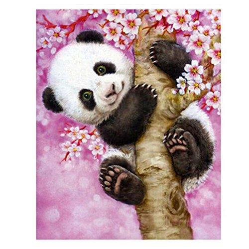 Animals Panda Diamond Embroidery Diamond Painting Cross Stitch Picture Of Rhinestones Full Square Diamond Mosaic Kits