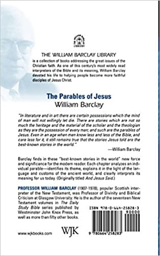 Workbook bible worksheets for middle school : The Parables of Jesus (The William Barclay Library): William ...
