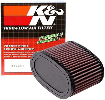 K&N Engine Air Filter: High Performance, Premium, Powersport Air Filter: 1987-2007 HONDA (VT1100C Shadow Spirit, Sabre, VT1100C3, VT1100C2, VT1100T, VT1100C2, VT1100D2, Aero, ACE Tour, ACE) HA-1187