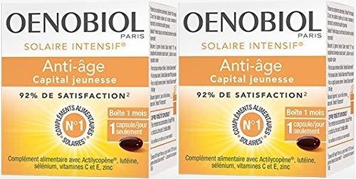 Oenobiol Paris Solaire Intensif Intensive Anti-Age Sun 2 x 30 Capsules - 2 pack
