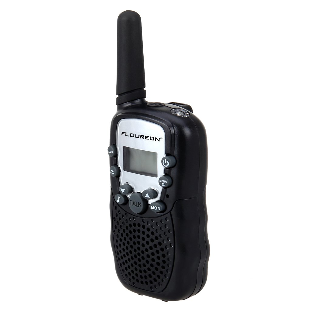 Floureon UHF462-467MHz 22 Channel FRS/GMRS 2-Way Walkie Talkies (2-Pack) by floureon (Image #4)