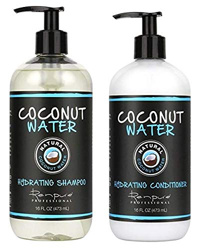 Renpure Professional - Coconut Water Hydrating Shampoo & Conditioner 16 fl oz Each by Renpure Professional