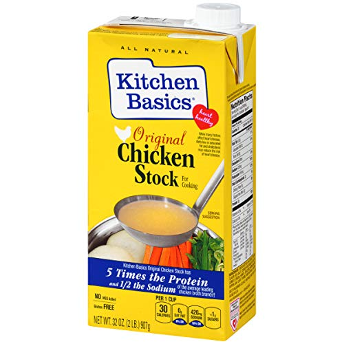 Kitchen Basics Original Chicken Stock, Spice and Herb All Natural Flavoring, 32 ()