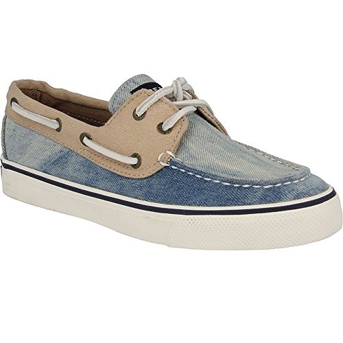 Sperry 9733015 Women's Bahama Canvas Sneakers, Denim, 5 M US
