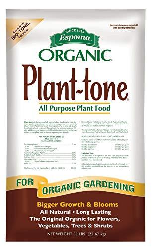 Espoma Organic 5-3-3 Plant Tone Fertilizer, 50 lb
