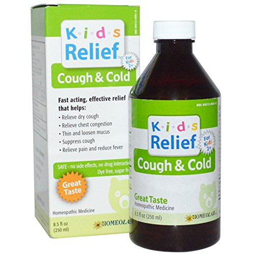 Kids Relief Cough and Cold Syrup, 8.5 Fluid (Kids Cough Relief Syrup)