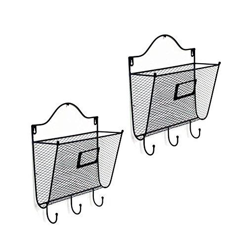 Wall Mounted Key Shaped Mail Box Key Holder - 7