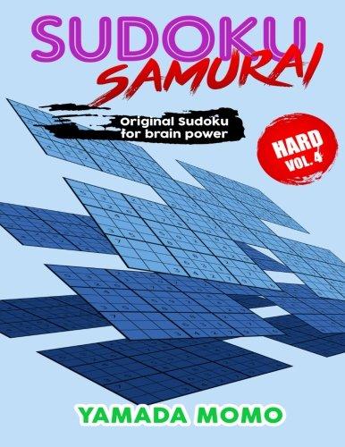 Download Sudoku Samurai Hard: Original Sudoku For Brain Power Vol. 4: Include 100 Puzzles Sudoku Samurai Hard Level (Hard Level Sudoku Samurai For Brain Power) (Volume 4) pdf