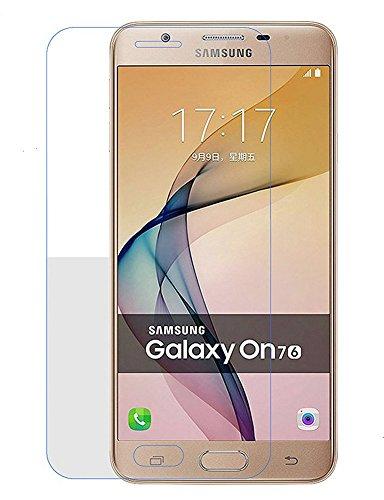 5c9c7825323 Kepuch Samsung Galaxy On7 2016 / J7 Prime Protector de Pantalla - 2  Unidades Cristal Vidrio
