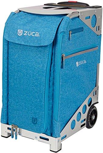 Zuca Pro挿入バッグ(ヘザー/バッグのみ) B072KPV59K Heather Aqua Turquoise Heather Aqua Turquoise