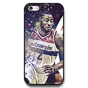 Onelee (TM) - Customized Personalized Black Hard Plastic iPhone 5c Case, NBA Superstar Washington Wizards John Wall iPhone 5C case, Only Fit iPhone 5C Case