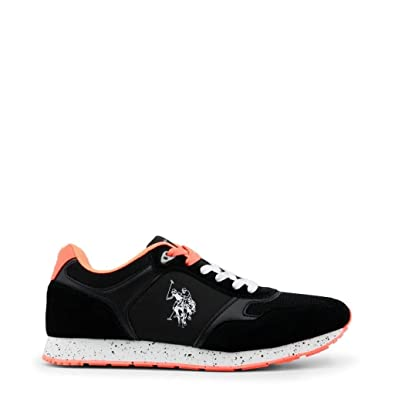U.S.POLO ASSN. Schuhe Sneaker Herren Turnschuhe Low Schwarz