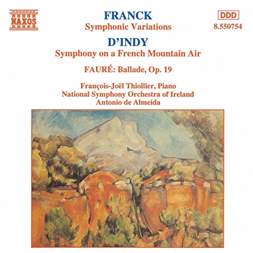 Symphonic Variations (Cesar Franck Symphonic Variations For Piano And Orchestra)
