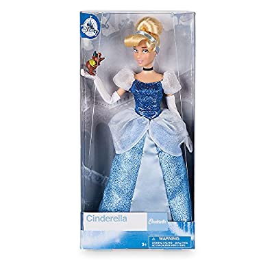Disney Cinderella Classic Doll with Gus Figure - 11 1/2 Inch: Toys & Games
