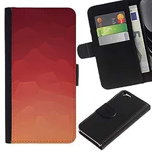 // PHONE CASE GIFT // Moda Estuche Funda de Cuero Billetera Tarjeta de crédito dinero bolsa Cubierta de proteccion Caso Apple Iphone 6 / Abstract Pink Pattern /