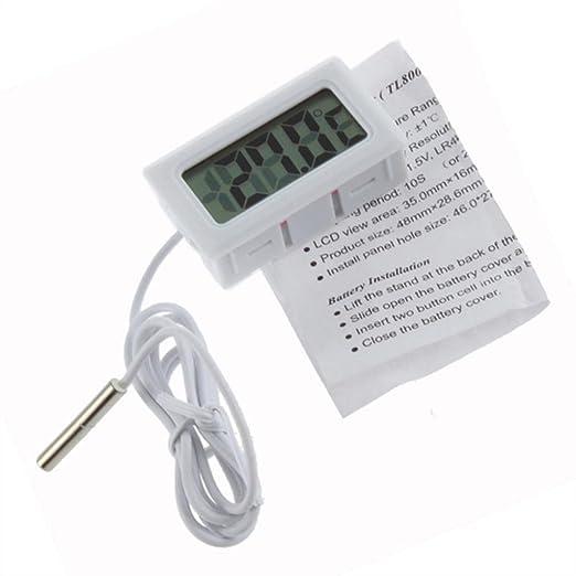 11 opinioni per Vovotrade® Mini Digital LCD Termometro ad alta temperatura con sonda Celsius