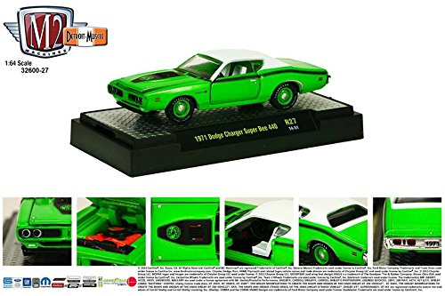 1971 DODGE CHARGER SUPER BEE 440 * M2 Machines Detroit Muscle Release 27 * 2014 Castline 1:64 Scale Die-Cast Vehicle (14-51) (1971 Dodge Challenger Diecast compare prices)