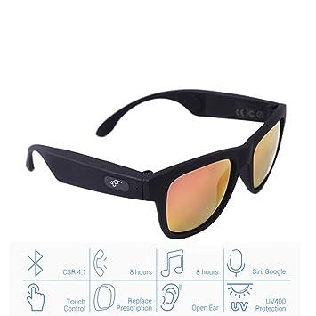 Gafas de sol con Bluetooth, lentes con toque inteligente ...
