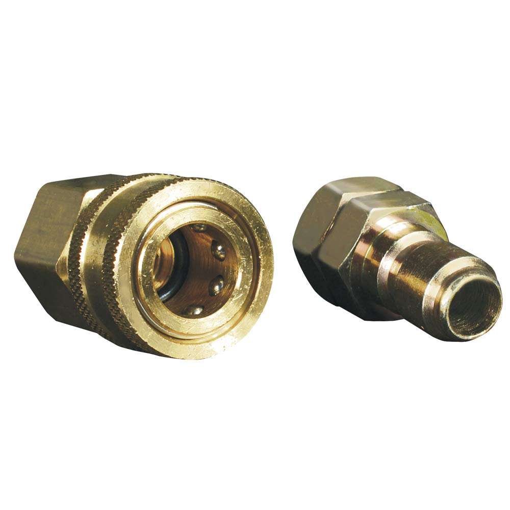 "Apache 98441024 3/8"" Quick Disconnect Pressure Washer Adapter Set"